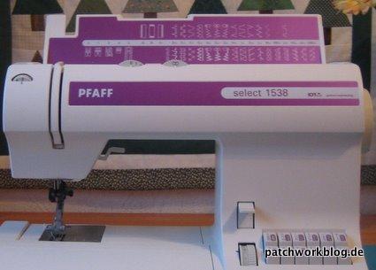 Pfaff-Nähmaschine -Nahaufnahme